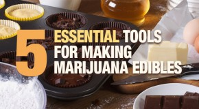 Five Essential Tools for Making Marijuana Edibles